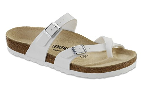 Birkenstock Women´s Mayari White synthetic Sandals for sale  Delivered anywhere in USA