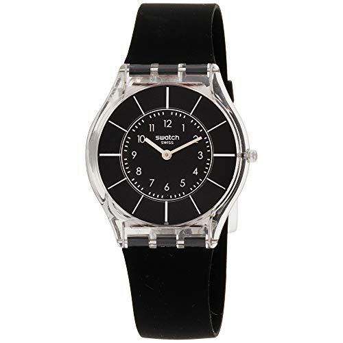 Swatch BLACK CLASSINESS Ladies Watch - Watch Skin Swatch Collection