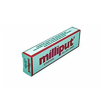 Merveilleux Milliput Aquascape Construction Epoxy Standard Yellow Grey 4oz By Milliput