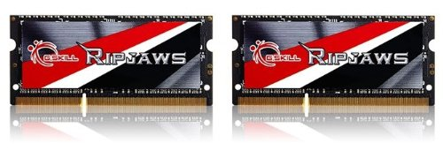 G.SKILL 16GB (2 x 8G) Ripjaws Series DDR3 PC3-14900 CL11 SO-DIMM Laptop Memory F3-1866C11D-16GRSL