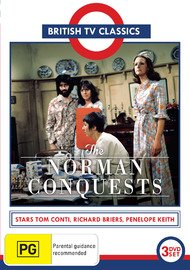 The Norman Conquests (3 Disc Set) (PAL REGION 0) {Non-USA Format} IMPORT