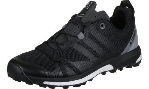Adidas Terrex Agravic, Scarpe da Escursionismo Uomo, Nero (Negbass/Grivis), 46 EU
