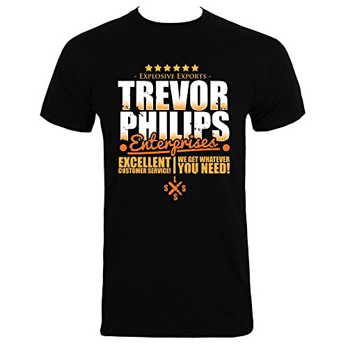 Men's Trevor Philips Enterprises T-Shirt Black