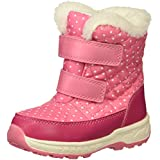 Carter's Girls' Fonda Cold Weather Snow Boot, Pink, 7 M US Toddler