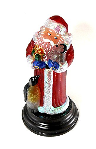 (Old World Christmas Santa with Penguin Pals, 11