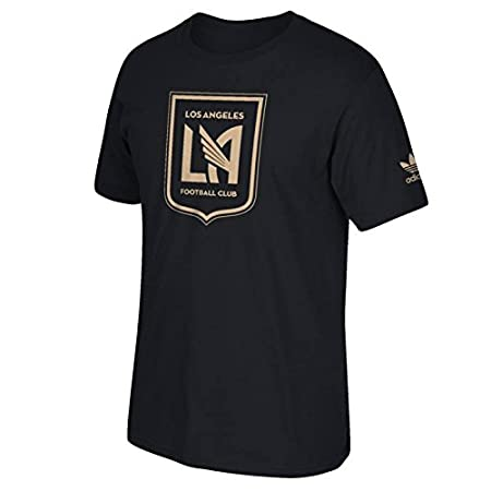 6b8f308b4 Amazon.com   Adidas LA Football Club New Primary Universal T-Shirt (Black)  M   Sports   Outdoors