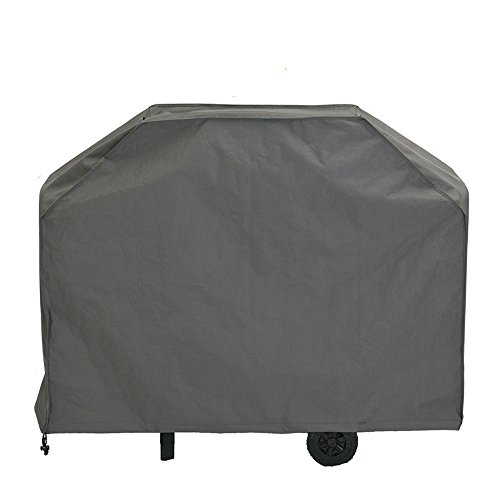 Patio Watcher Grill Cover, Large 64-inch BBQ Cover Waterproof, Heavy Duty Gas Grill Cover for Weber,Brinkmann,Char Broil,Holland and Jenn Air-Grey (B Q Covers Bar)