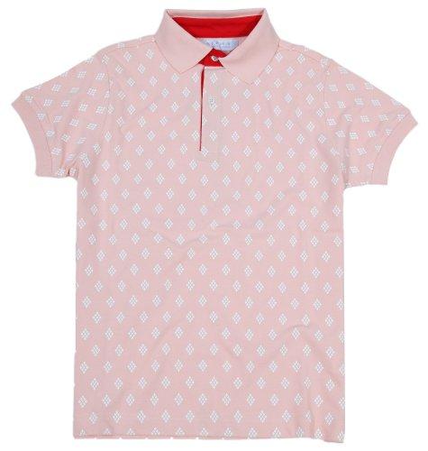 Alpha by Massimo Rebecchi Herren Polo Shirt CESENA 10041377-Rosa