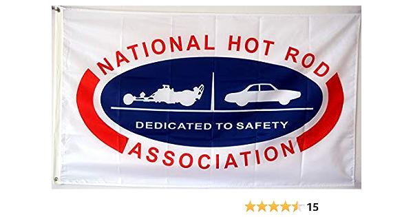 Mountfly Nhra Dedicated To Safety Hot Rod Racing Vintage Flag Banner Man Cave 3x5 Feet Garden Outdoor Amazon Com