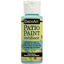 DecoArt DADCP63-3 Patio Paint Acrylic Blue Bahama 2oz