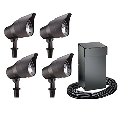 Intermatic cl10304t malibu outdoor four light lighting kit with intermatic cl10304t malibu outdoor four light lighting kit with 300 watt power packtimer black amazon aloadofball Choice Image