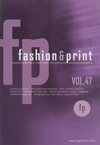 Fashion & Print Directory: The Madison Avenue Handbook