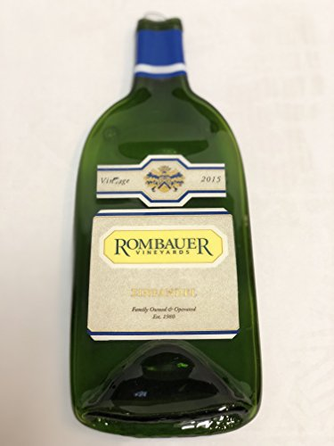 Rombauer Vineyards - Zinfandel Melted Wine Bottle Cheese Serving Tray - Wine (Zinfandel Cheese)
