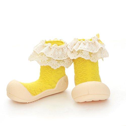 Attipas - Zapatos primeros pasos para niña Amarillo amarillo