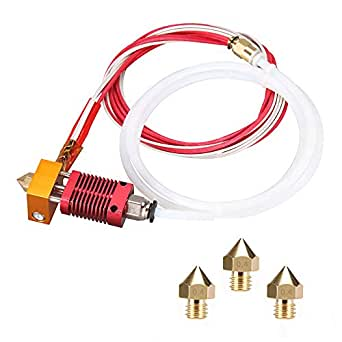 Kit de boquilla para impresora 3D MK8 Hotend Kit compatible con ...