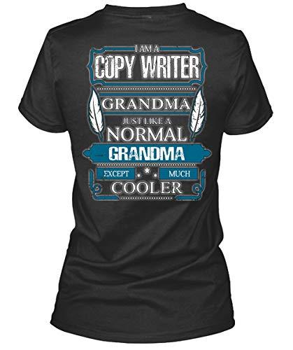I Love Writer Women's Tee, I Am A Copy Writer Grandma T Shirt-WomenTee (XXL, Black)