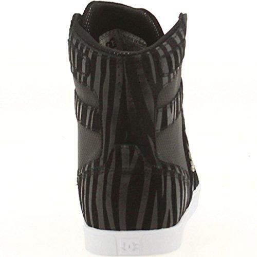 Dc Womens Admiral High Top Sneaker Nero