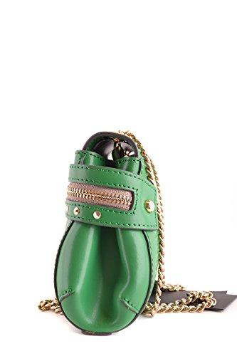 Twin-Set Borsa A Spalla Donna MCBI302119O Pelle Verde