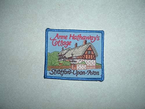 Patch Non Military Anne HATHAWAYS Cottage Stratford Upon Avon