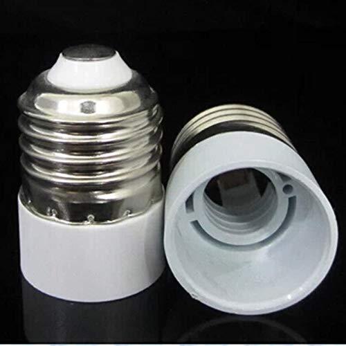 - STAR-FIVE-STORE - 5Pcs/Lot New E27 to E14 Base LED Light Lamp Bulb Adapter Converter Screw Socket