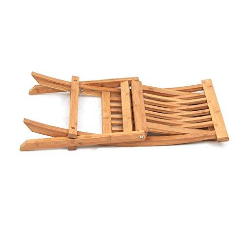WANGXIAOLIN Folding Chair Dining Chair Portable Bamboo Chair Fishing Chair Folding Chair (Size : 45cm90cm) by WANGXIAOLINzhediedeng (Image #3)