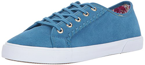 Jack Rogers Womens Carter Carter Teal Waterproof Suede
