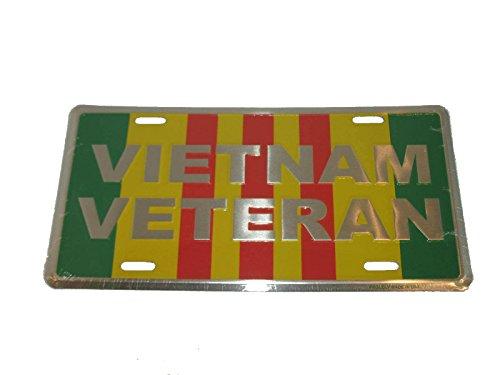 Vietnam Vet Veteran Ribbon World War License Plate 6