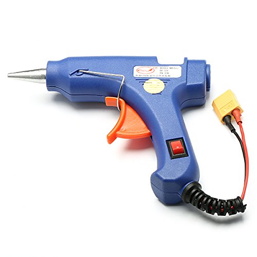 HITSAN Outfield 3S 12V 30W Hot Melt Glue Gun With XT60 Plug For RC Models One Piece by HITSAN