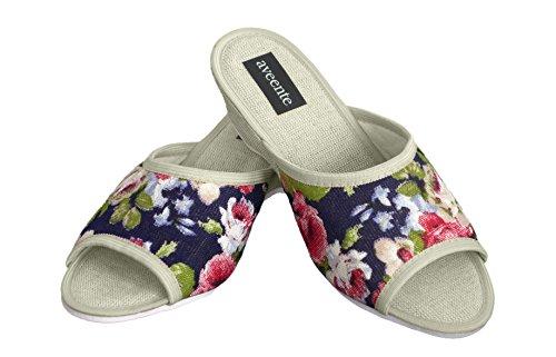 Aveente Sandalias Beige colores disponibles con joyas para mujer Flowers con plataforma varios sexy rrdUPawq6x