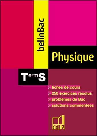 Livre Physique Terminale S pdf