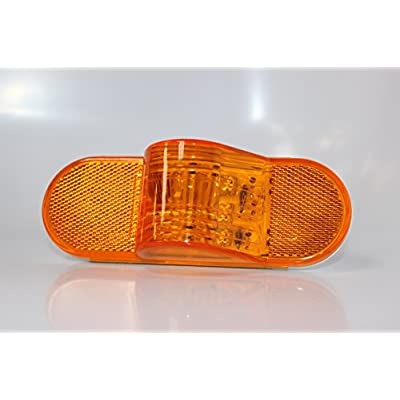 Kaper II L14-0076A Amber LED Auxiliary Light: Automotive