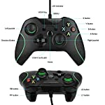 Wired-Controller-for-Xbox-One-Wired-Xbox-one-USB-Gamepad-Controller-Compatible-with-Xbox-OneSXPC-Windows-7810-with-35mm-Headset-Audio-JackBlack