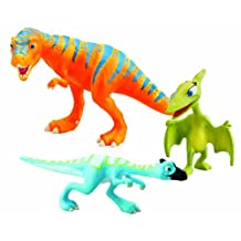 Learning Curve Dinosaur Train Collectible Dinosaur 3 Pack - My Friends Are Bipeds: Boris, Oren And Mrs. Pteranodon
