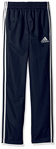 adidas Big Boys' Trainer Pant Youth, Navy, L (Pants Boys Active)