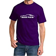 1970 Ford Mustang Boss 429 Classic Outline Design Tshirt