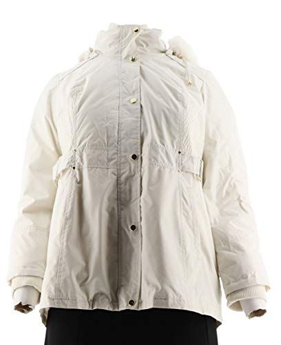 Susan Graver Convertible 4 in 1 Jacket Reversible Vest Pckts Ivory L New A268807 ()