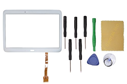 White Touch Screen Digitizer Replacement for Samsung Galaxy TAB 3 GT-P5210 10.1