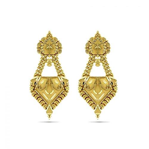 Candere-By-Kalyan-Jewellers-22KT-Yellow-Gold-Jhumki-Earrings-for-Women