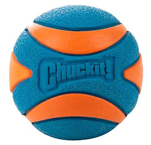 Chuckit! Ultra Squeaker Ball Pelota para Perros Compatible con el Lanzador
