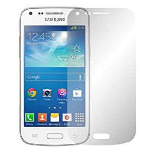 "2 x Slabo protector de pantalla Samsung Galaxy Core Plus G3500 lámina protectora de pantalla lámina ""Ultra Transparente"" invisible MADE IN GERMANY"