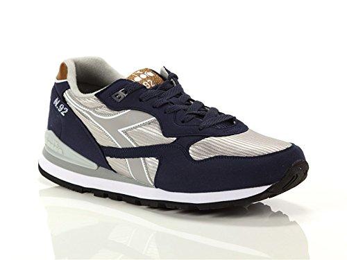 Diadora Uomo, N 92 II, Suede/Nylon, Sneakers, Blu