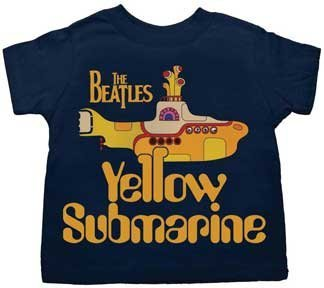 Amazon.com: Beatles Yellow Submarine Toddler T Shirt, Navy ...