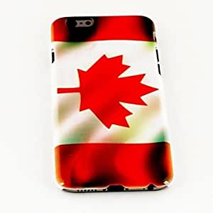 ZCL Fashion Canada National Flag Pattern TPU Soft Cover for iPhone 6