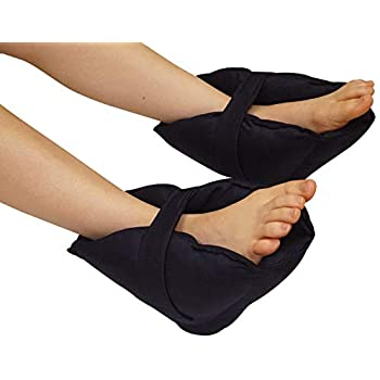 ef259bab453f Adult Size Heel Cushion Protectors - One Pair of Foot and Ankle Pillow  Guards - Adjustable and Easy to Put on - Protects from Pressure