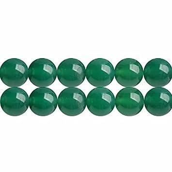 54717b682625 Abalorios de Piedras Preciosas Ágatas Verde Naturales Bola de 4mm para  Fabricación de Bisutería y Artesanía Cerca de los 38cm Aprox 88 Piezas   Amazon.es  ...
