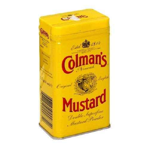 Colman's Hot and Dry Mustard, 4.0 Ounce (Pack of 12) by Colman's