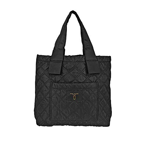 Tote Quilted Bag Nylon - Marc Jacobs Quilted Tote Leather/Nylon Black M0013510-001