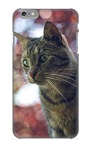Hot Design Premium Dnvdwi-4240-ajohogq Tpu Case Cover Iphone 6 Plus Protection Case (animal Cat)