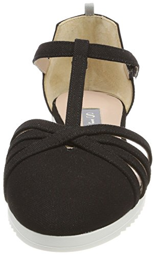 Meteor Jessica by Sandals Canvas Sarah Black SJP Black Women's Parker PEXdqnq