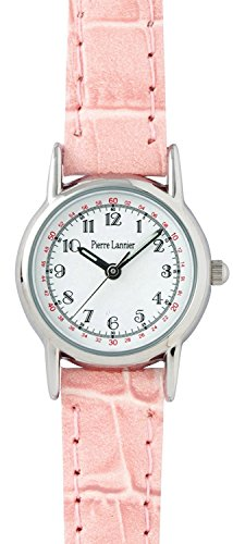 PIERRE LANNIER press watch fruit Watch Silver / Croco Usupinku P008B800 C51 Ladies